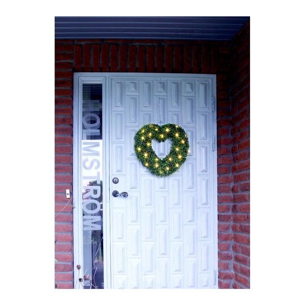 Svietiaca dekorácia Heart, 45 cm