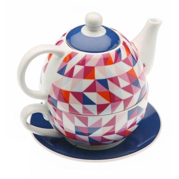 Kanvička a hrnček v jednom Geometric Tea