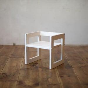 Detská stolička Just White