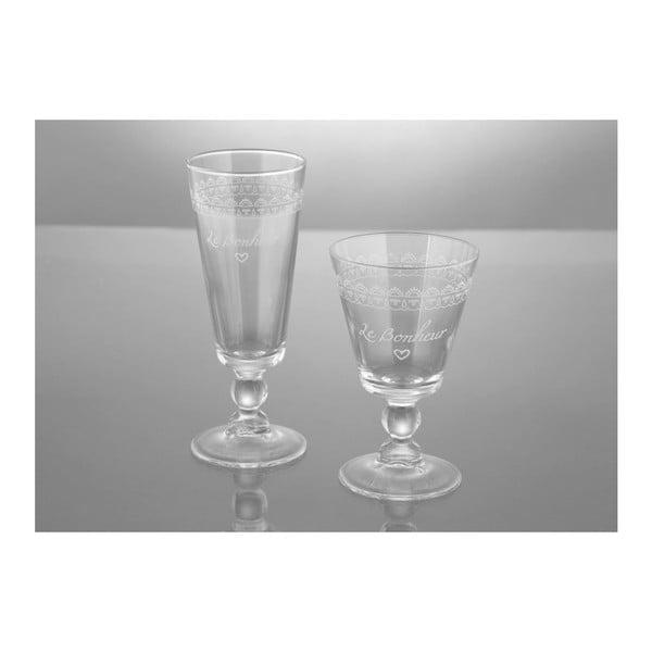 Sada 6 pohárov Le Bonheur