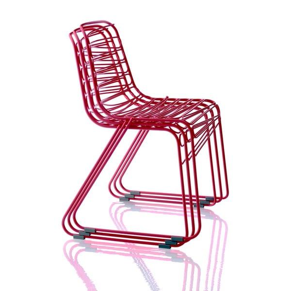 Červená stoličky Magis Flux