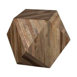 Drevený stolík Dutchbone Geo