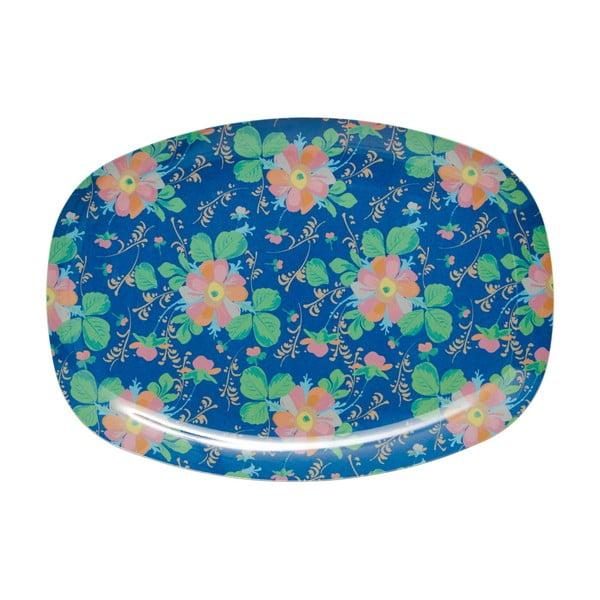 Servírovací tanier Blue Flower