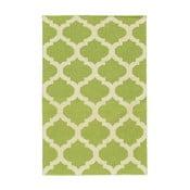 Ručne tkaný koberec Kilim JP 11212 Green, 90x150 cm