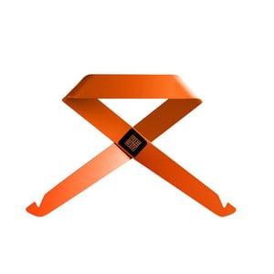 Oranžový nástenný vešiak MEME Design Fiocco