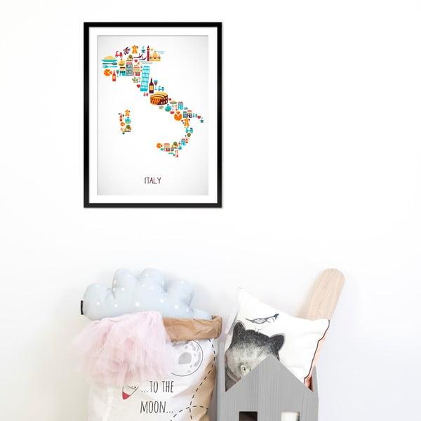 Zarámovaný obraz Italy, 50x70 cm