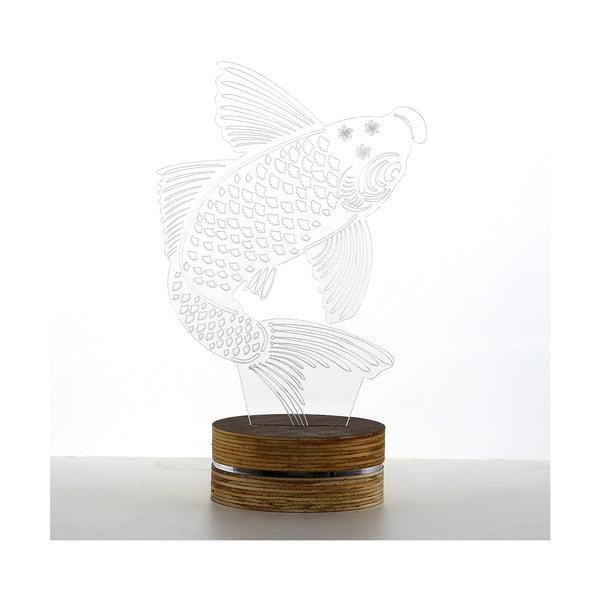 3D stolová lampa Big Fish