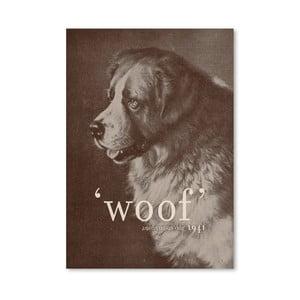 Plagát Famous Quote Dog od Florenta Bodart, 30x42 cm