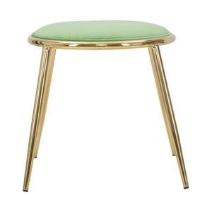Svetlo-zelená stolička Mauro Ferretti Emily, ⌀ 45 cm