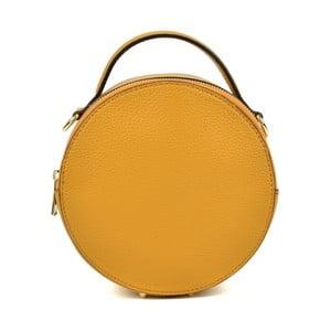 Žlté kožené listové kabelky Isabella Rhea Pargo