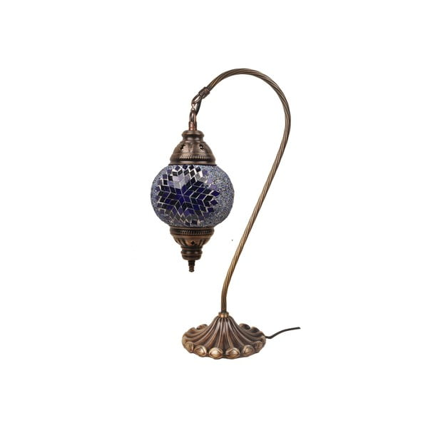 Sklenená lampa Fishing II, 15 cm