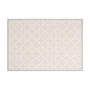 Sivý vinylový koberec Zala Living Sia, 97 × 140 cm