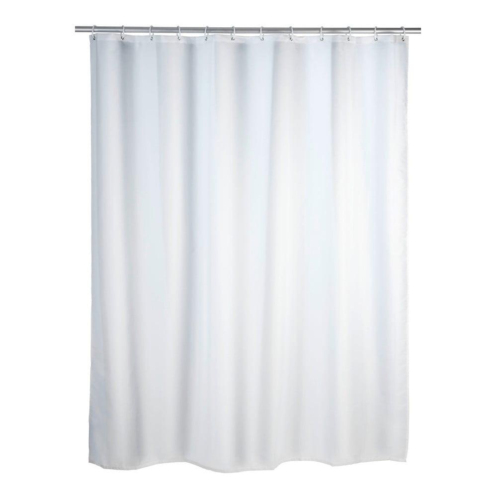 Biely sprchový záves Wenko, 180 x 200 cm