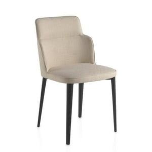 Krémová jedálenská stolička Ángel Cerdá Stella