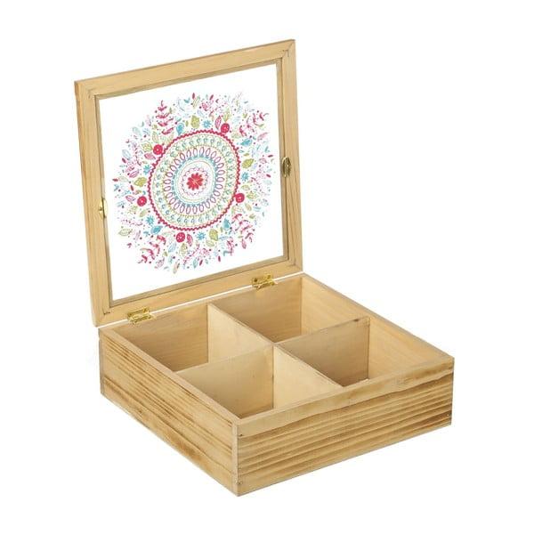 Krabička na čaj/šperkovnica Mandala