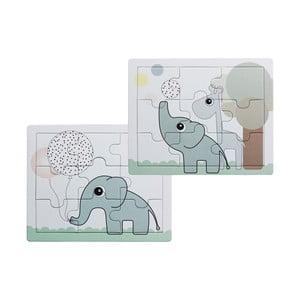 Sada 2 detských puzzle Done by Deer Elphee a Raffi