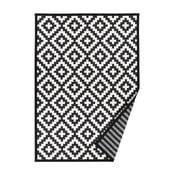 Čierno-biely vzorovaný obojstranný koberec Narma Viki, 70x140cm