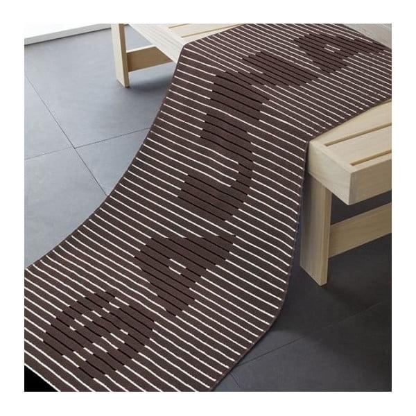 Osuška Sauna Brown, 180x70 cm