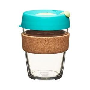 Cestovný hrnček s viečkom KeepCup Brew Cork Edition Thyme, 340 ml
