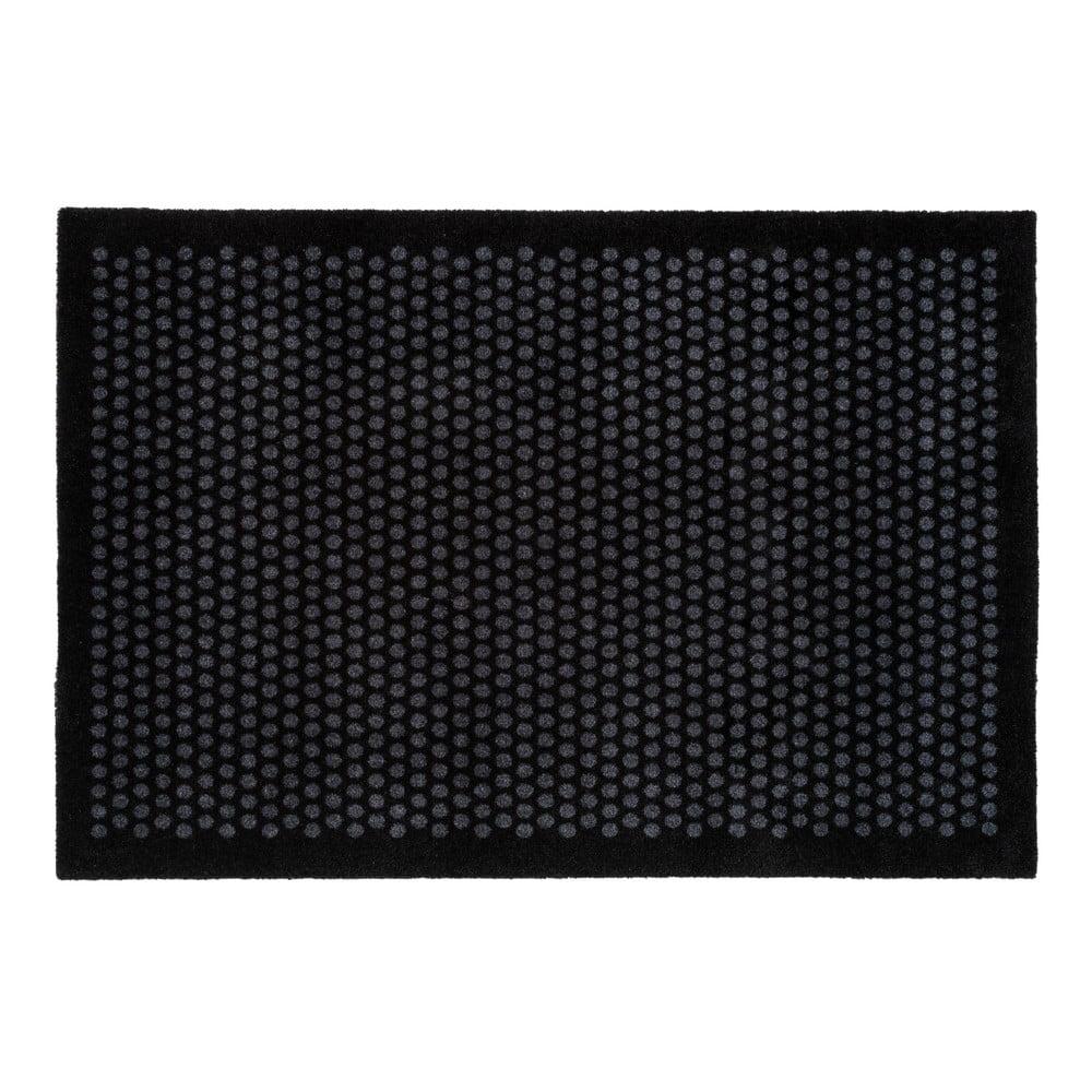 Čiernosivá rohožka tica copenhagen Dot, 90 x 130 cm