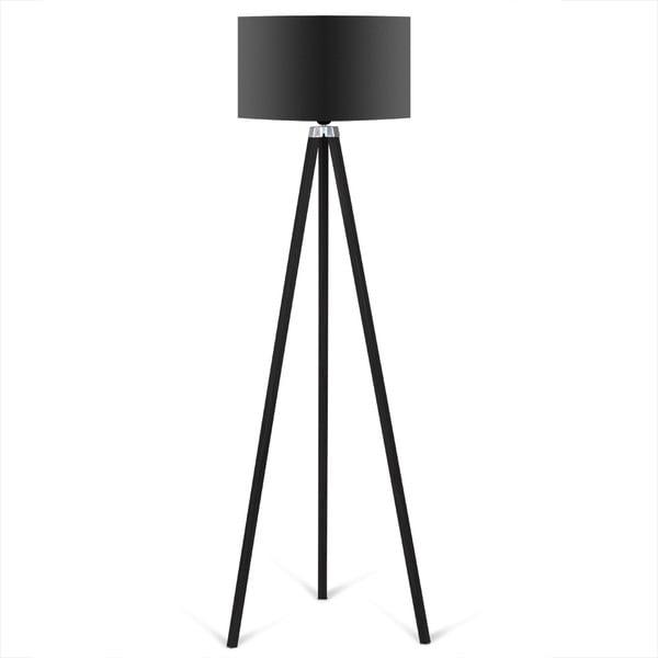 Čierna voľne stojacia lampa Kate Louise Caresso