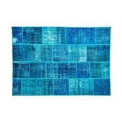 Vlnený koberec Allmode Dark Turkuaz, 180x120 cm