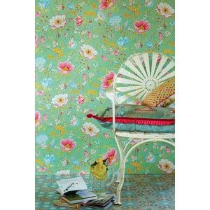 Tapeta Pip Studio Chinese Garden, 0,52x10 m, zelená