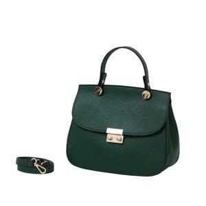 Zelená kabelka z pravej kože Andrea Cardone Christen