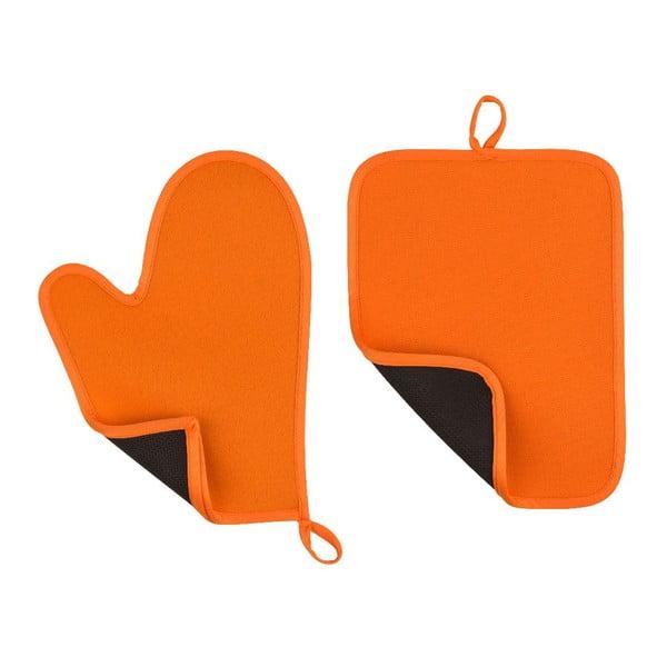Sada 2 oranžových chňapiek Premier Housewares Oven Glove