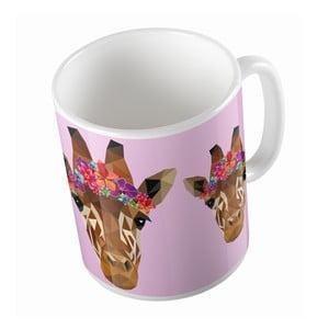Keramický hrnček Butter Kings Beautiful Giraffe, 330 ml