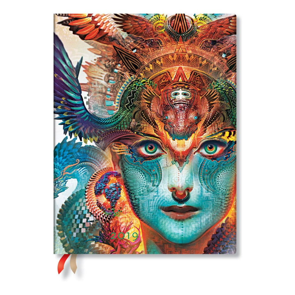 Diár na rok 2019 Paperblanks Dharma Dragon, 18 x 23 cm