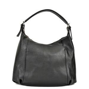 Čierna kožená kabelka Renata Corsi Francesca Mula