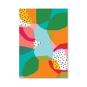 Plagát Geometric Shapes, 30x42 cm