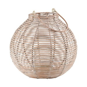Ratanový lampáš Butlers Asia, ⌀30cm
