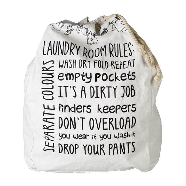 Vreco na špinavé prádlo Laundry Rules