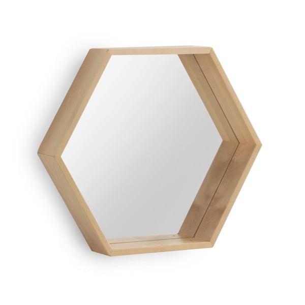 Nástenné zrkadlo z brezového dreva Geese Pure