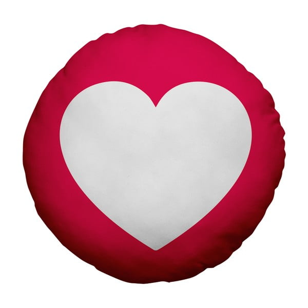 Vankúš Emoji Heart, 39 cm
