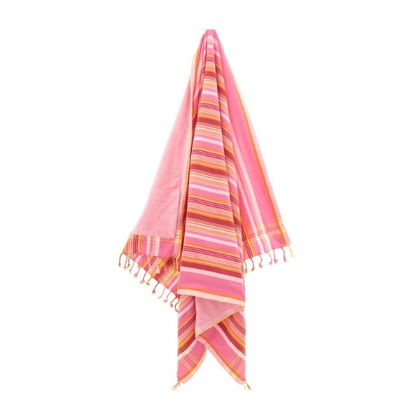 Osuška Hazan Pink, 100x178 cm