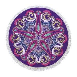 Okrúhla osuška Purple Universe, ⌀150cm