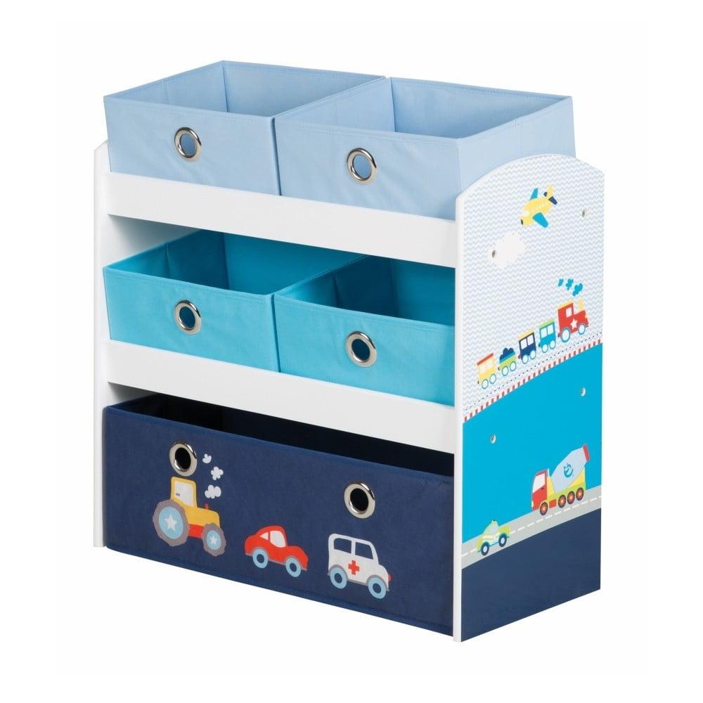 5d275d99a Úložné boxy na hračky Roba Kids Cars | Bonami