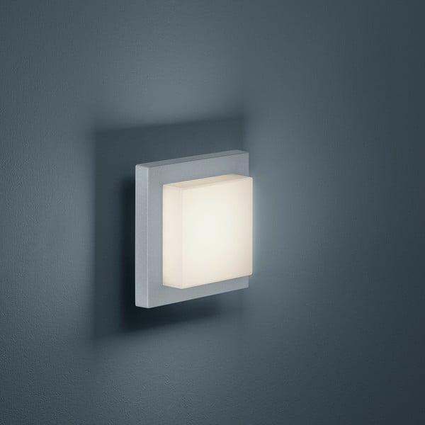 Záhradné nástenné svetlo Hondo Titanium, 14 cm