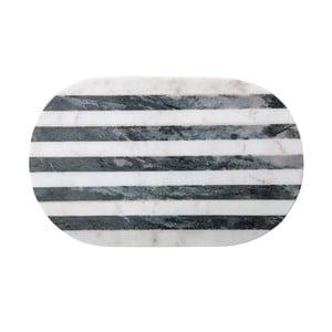 Mramorový lopárik Bloominville Oval, 37 x 23 cm
