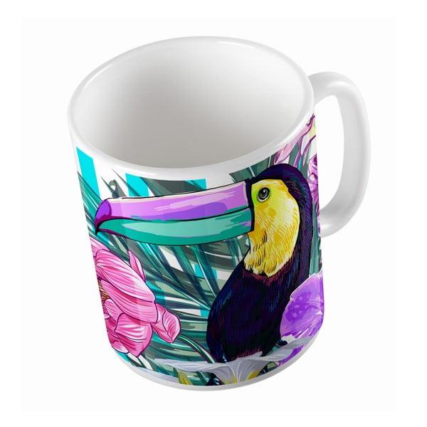 Keramický hrnček Toucan Bird, 330 ml
