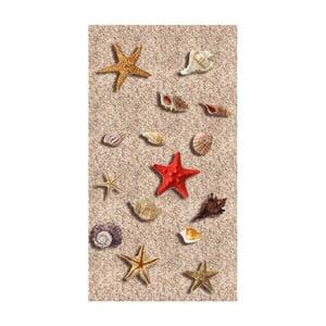 Odolný koberec Vitaus Sandria, 50×80cm
