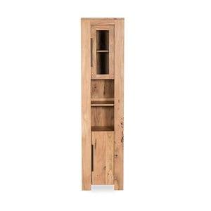 Vysoká kúpeľňová skrinka z akáciového dreva Woodking Wellington