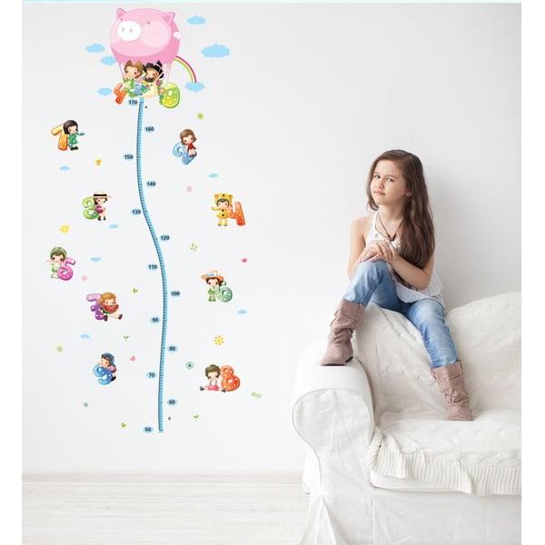 Samolepka s detským metrom Fanastick Balloon with Little Kids