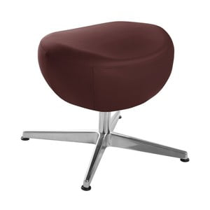 Vínovočervená otočná stolička/podnožka My Pop Design Gentils