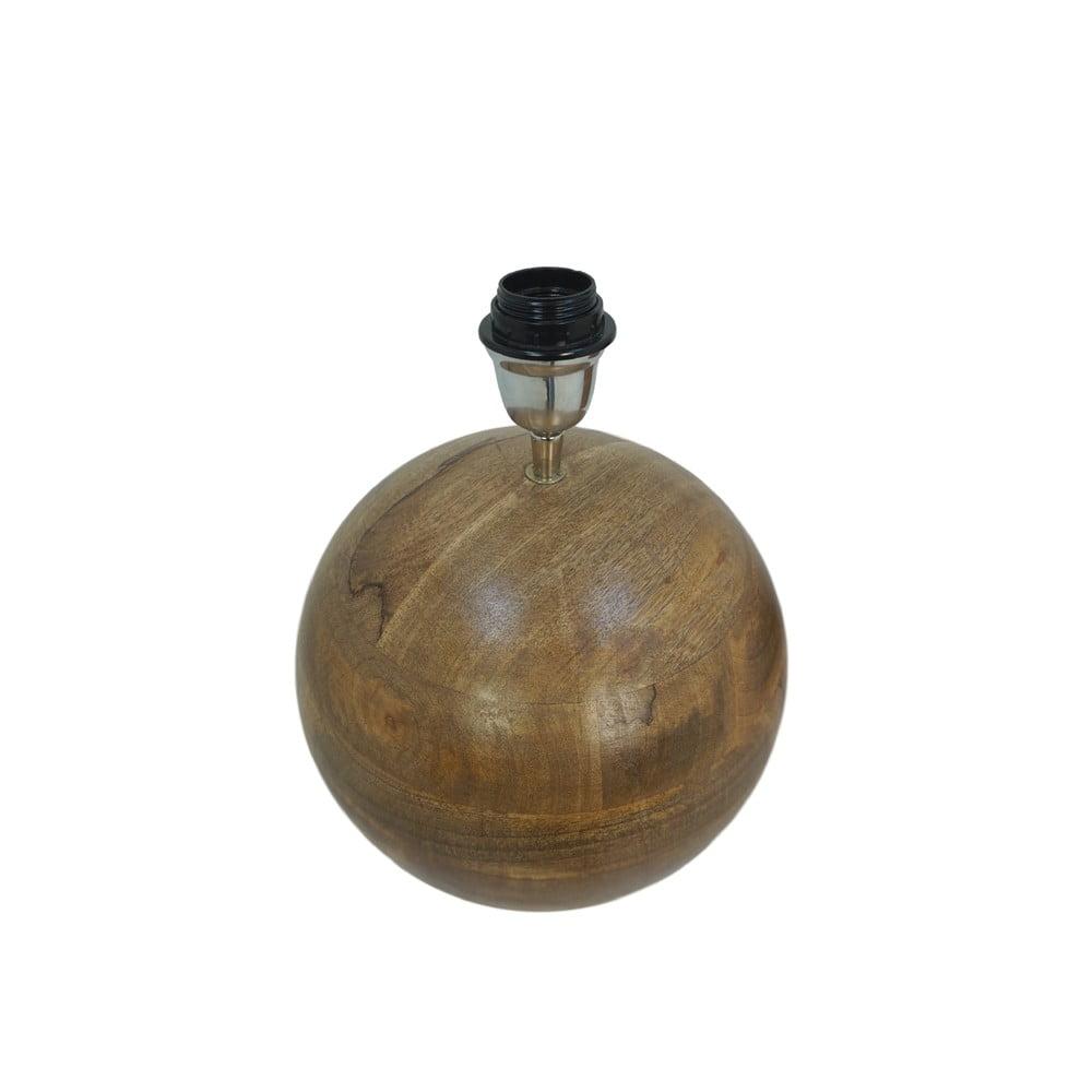 Stolová drevená lampa HMS collection Timber, ⌀ 30 cm