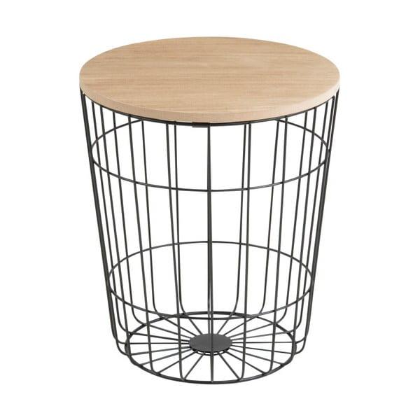 Odkladací stolík Actona Lotus Darko, Ø34 cm
