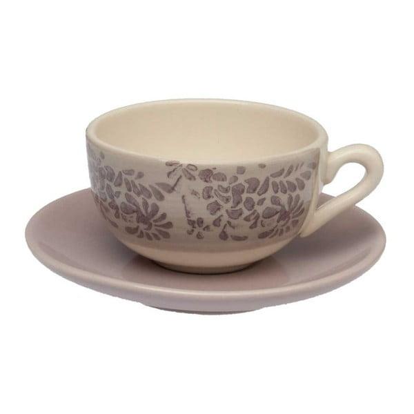 Šálka na kávu s tanierikom Tognana Lilla, 130 ml
